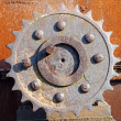 Rusty gear — Stock Photo