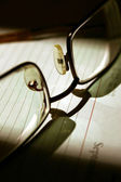 Reading spectacles — Stock Photo