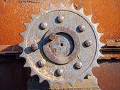 Rusty gear — Stock Photo