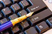 Kalem klavye — Stok fotoğraf
