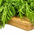 Green dill on the desk — Stock Photo