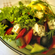 Royalty-Free Stock Photo: The Greek salad