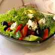 The Greek salad — Stock Photo #1083997