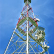 Stock Photo: Tower for cellular communication aerial