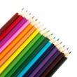 Royalty-Free Stock Photo: Multicolored pencils, isolated on the wh