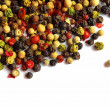 Various kinds of pepper — Stock Photo