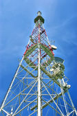 Tower for cellular communication aerial — Stock Photo