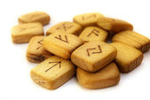 Old runes — Stock Photo