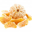 Stock Photo: The tangerine