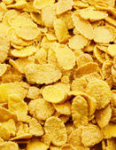 Background from corn flakes — Stock Photo
