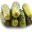 Marinated cucumbers — Stock Photo