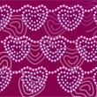 Royalty-Free Stock  : Dark-red beads hearts