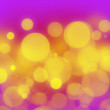 Pink gold bokeh - Stock Photo