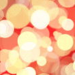 Royalty-Free Stock Photo: Red gold bokeh background