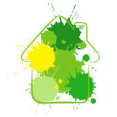 Green_house — Stock Vector
