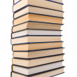 Royalty-Free Stock Photo: Pile of books isolated on a white