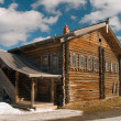 Stock Photo: House of the north russian fisherman - P