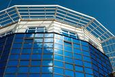 Office centre,Hi-tech architecture — Stock Photo
