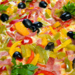 Tasty Italian pizza  with lemon — Lizenzfreies Foto