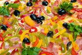 Sabrosa pizza italiana con limón — Foto de Stock