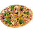 Tasty Italian pizza  with lemon — Foto Stock