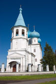 Orthodox church.Arkhangelsk — Foto Stock