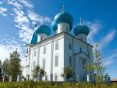 Orthodox church.Arkhangelsk — Stockfoto