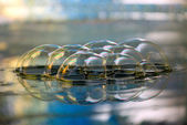 Abstract scene 10 , bubble,mirror image, — Stock Photo