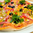 savoureux pizza.neapolitan italien — Photo