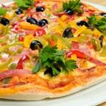 chutné italské pizza.neapolitan — Stockfoto
