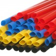 Thin wall heat shrinkable tubing — Stock Photo