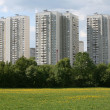 Residential district — Stockfoto