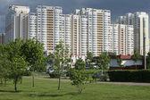 Residential neighbourhood — Stock Photo