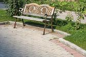 Beautiful bench — Stock Photo