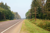 Country highway — Stock Photo
