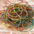 Elastic bands — Stock Photo