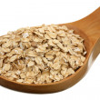 Stock Photo: Rolled oats