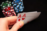 Pair of Aces — Stock Photo