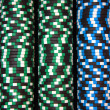 Poker colored chips — Stock Photo #1104971