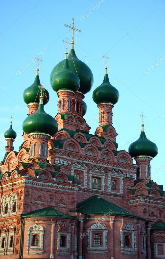 The Christian church in Moscow. Russia — Stock Photo #1109059