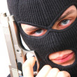 Min black balaclava — Stock Photo #1207851