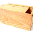 Wooden box — Foto de Stock