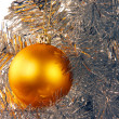 Stock Photo: Christmas decorated tree