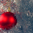 Christmas decorated tree - Stock Photo