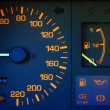 Car dashboard closeup - Stock Photo