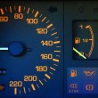 Car dashboard closeup — Stock Photo