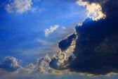 Ciemne chmury — Zdjęcie stockowe