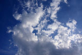 Clouds in blue sky — Stock Photo
