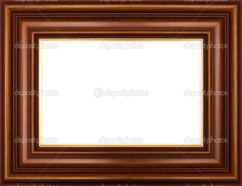 Frame for painting, on a white background. — Stock Photo #1142470