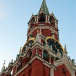 Spasskaya Tower Kremlin - Stock Photo